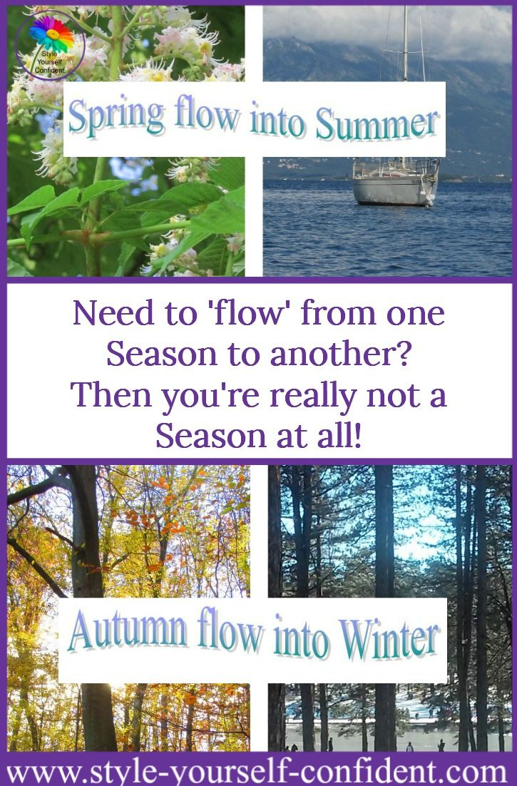 Flow seasonal color analysis or seasons whatus that all