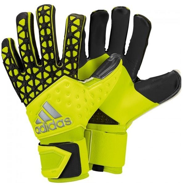 sells multiple colors exclusive shoes adidas Ace Zones Pro Yellow/Black Goalkeeper Gloves - model S90125 ...