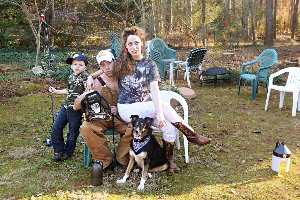 Redneck Alabama Family Photos