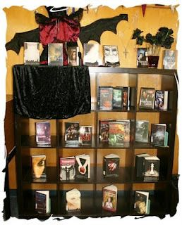 Library Displays: Vampires