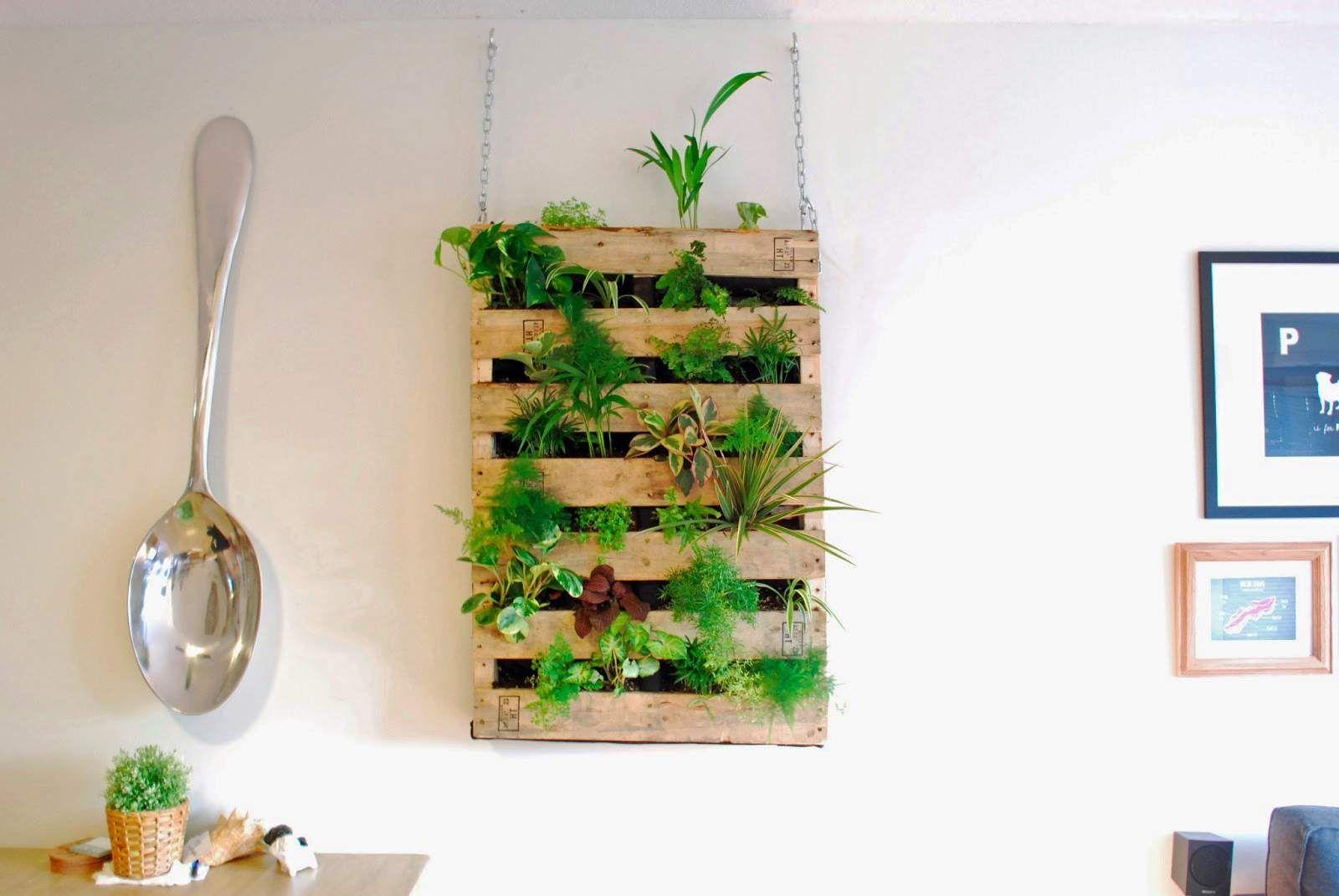 Nutzen Sie Die Palette Als Blumenkasten Mein Garten Vertikaler