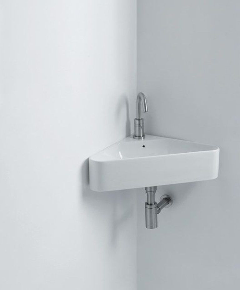 What Your Bathroom Reno Needs Is One Of These Tiny Sinks Small Bathroom Sinks Modern Bathroom Sink Bathroom Sink Faucets Modern