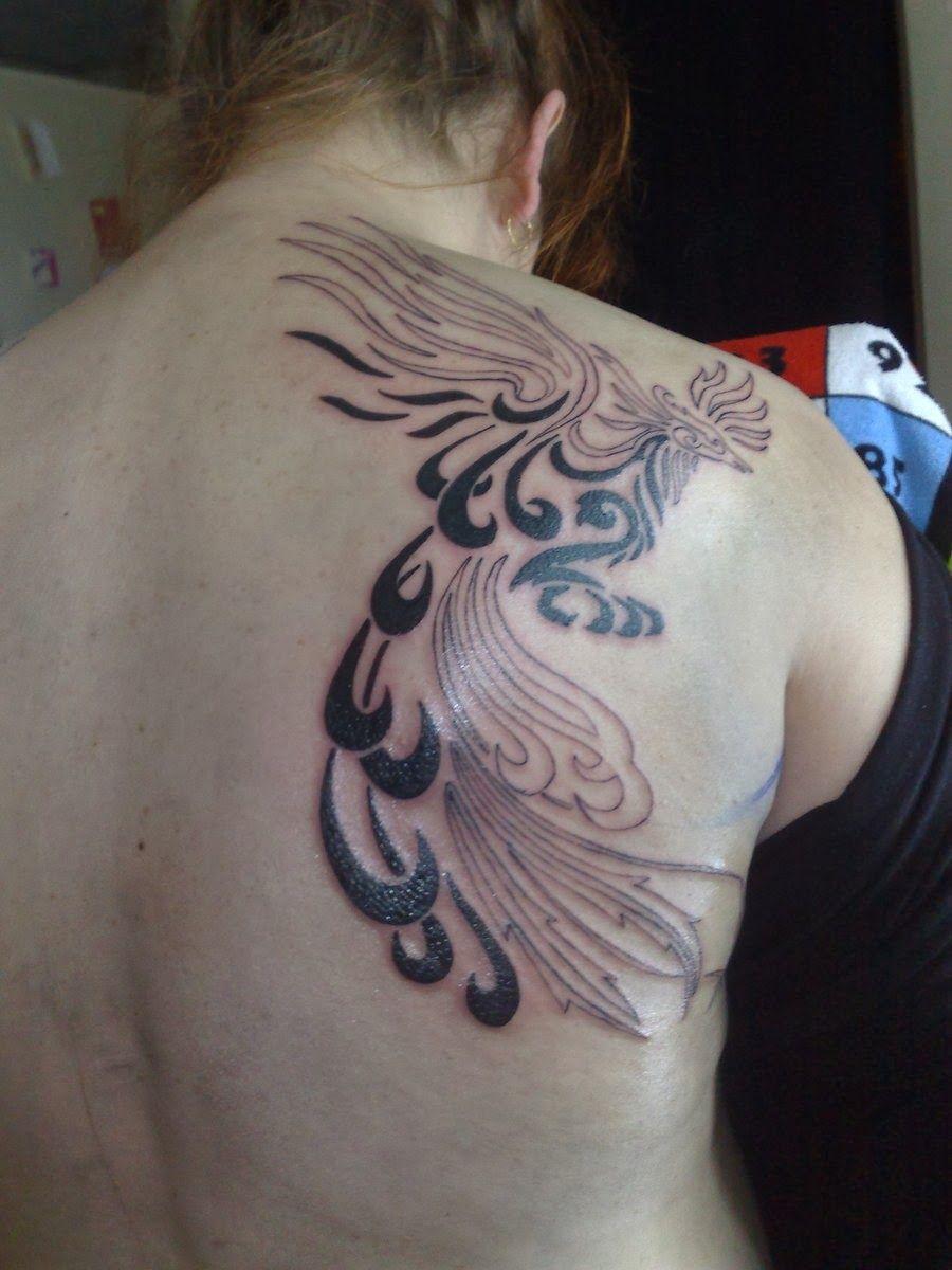 Phoenix tattoo for men - Tribal Phoenix Tattoos For Men