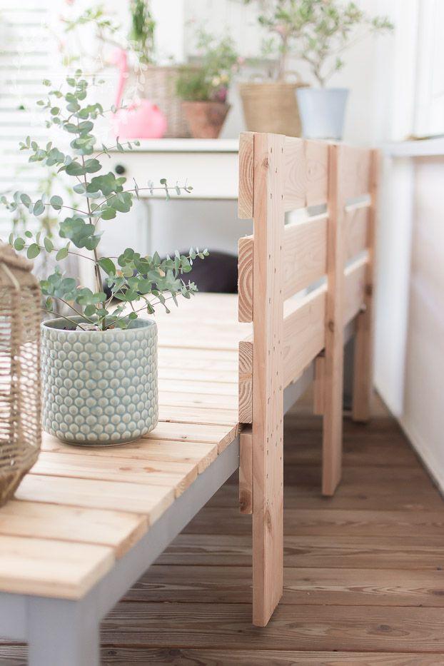 Terrassen Lounge selber bauen | Villa Josefina