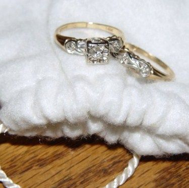 This Was Not My Original Engagement Ring Husband Likes To Give Me Wedding Bands Sets