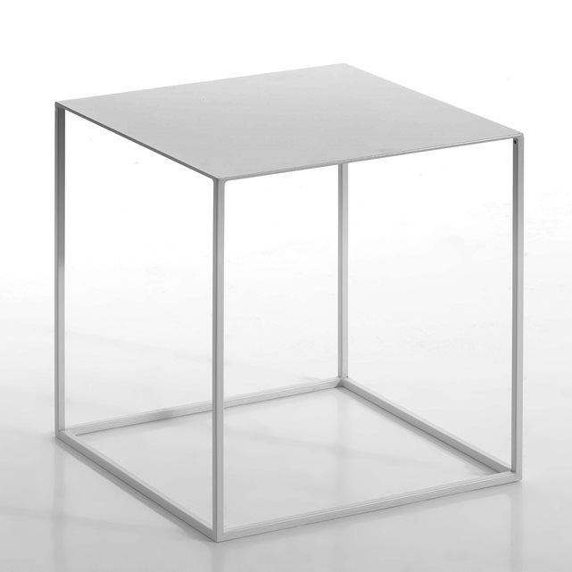 Romy Lacquered Metal Side Table Bedrooms and House
