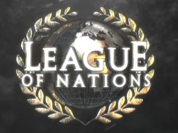 The League Of Nations Rusev Alberto Del Rio Wade Barrett Sheamus Logo Wwe