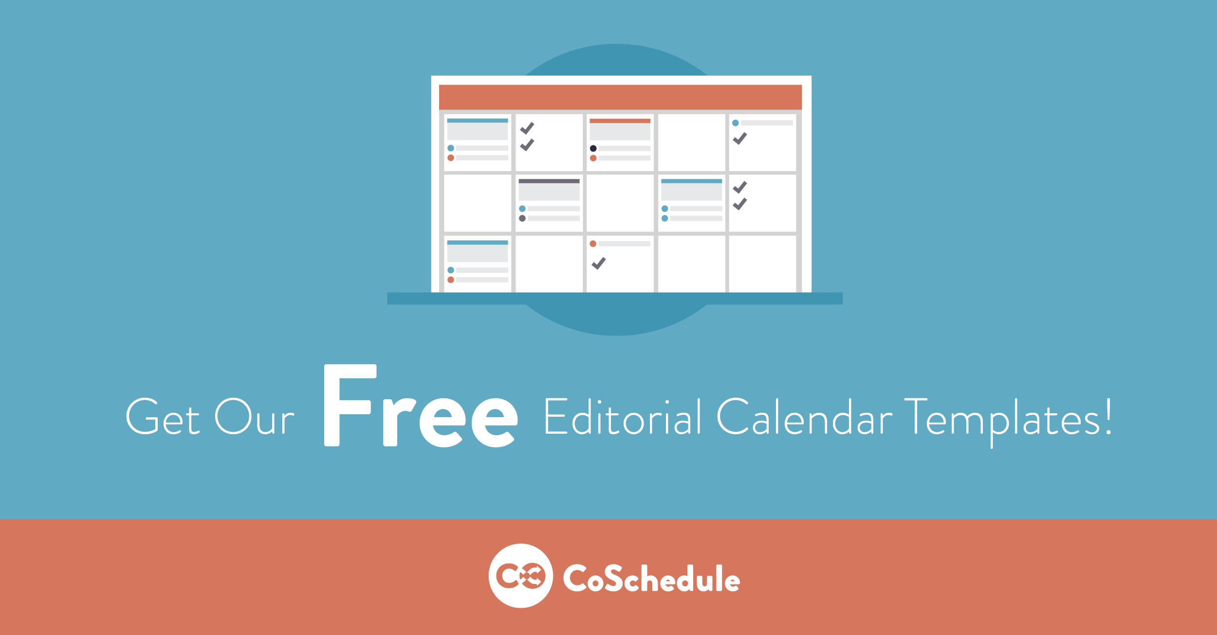 Get Our Free Editorial Calendar Templates Free Downloads