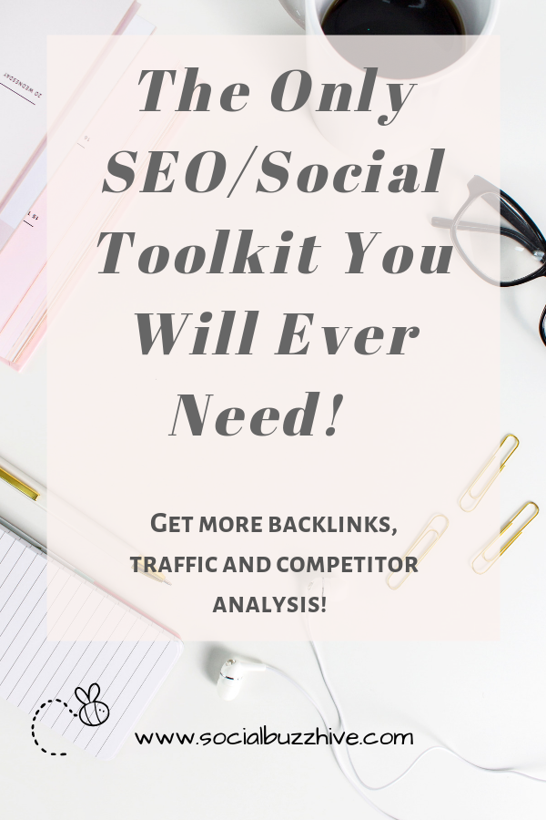 SEO Marketing Search Engine All In One Social Media/SEO Toolkit for Small Business and Entrpreneurs