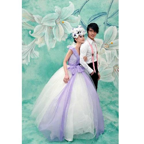 Adult Couples Fairy Tinkerbell Theme Wedding Gown Dress Clothing ...