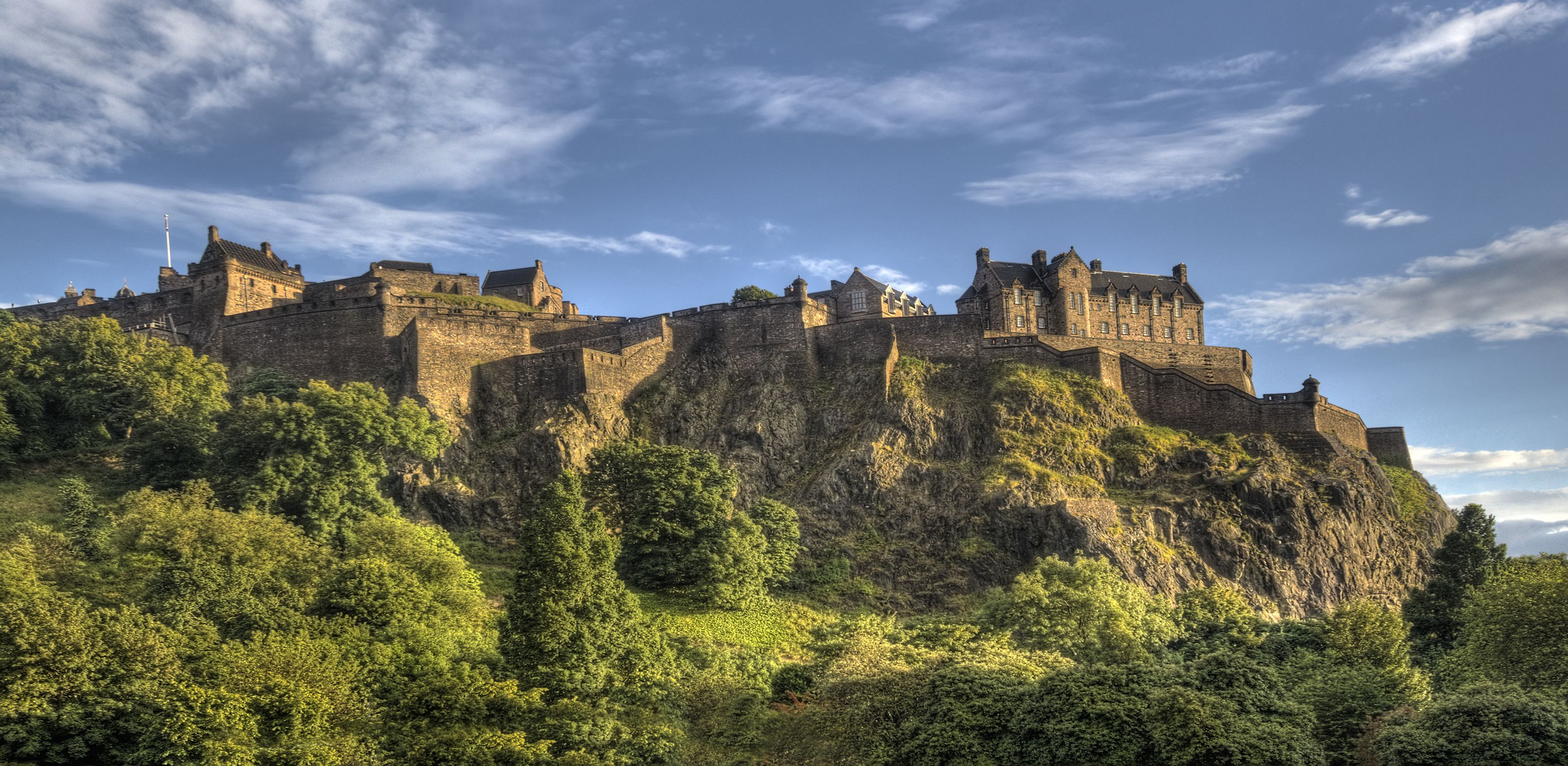 The Cliffs at Edinburgh castle