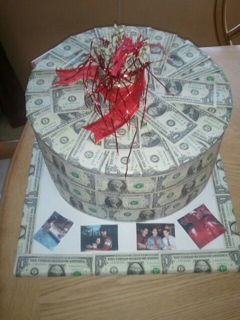 Money cake 100 unique gift ideas pinterest - Money cake decorations ...