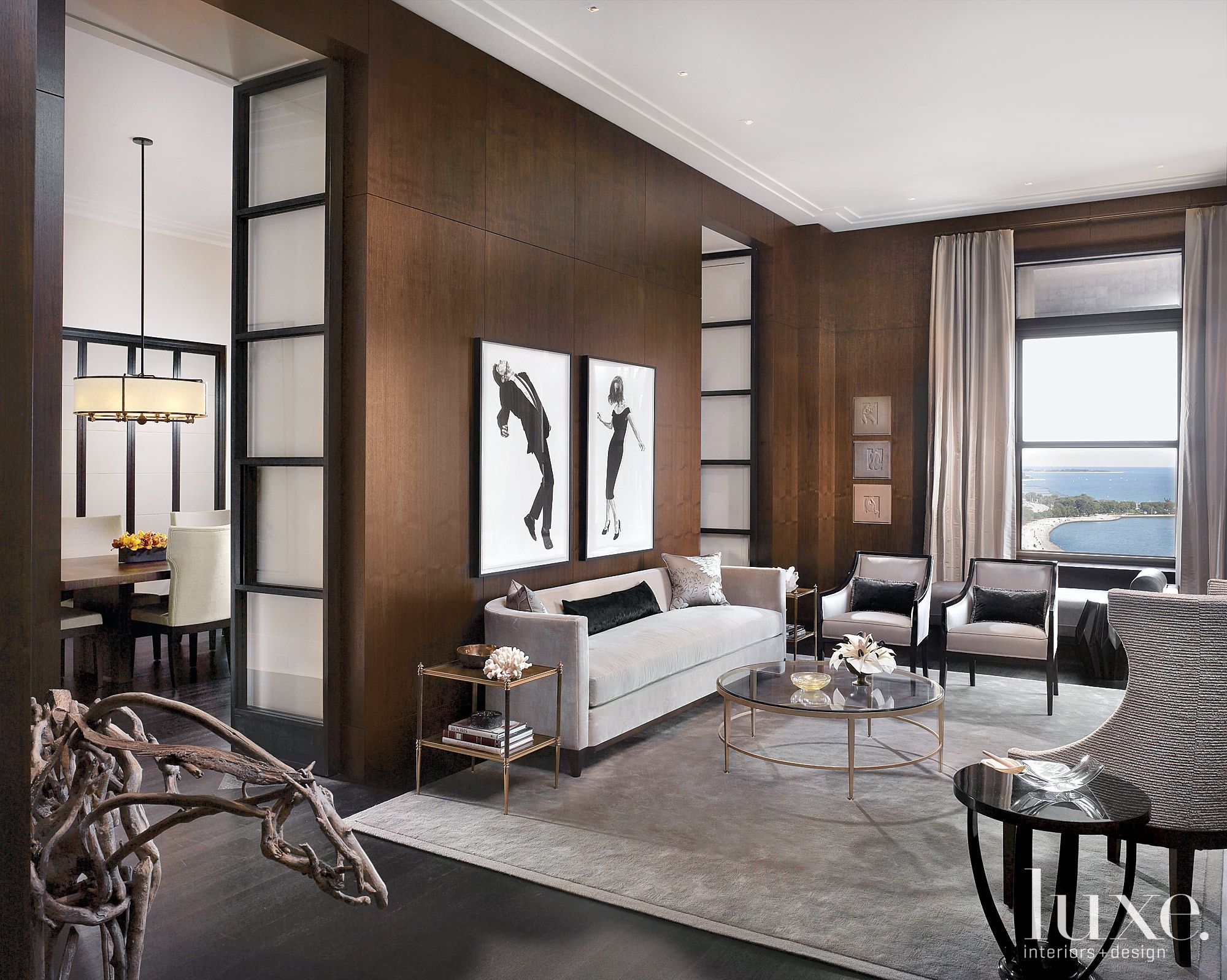 Modern Kitchen With Lakeside Views  Luxesource  Luxe Magazine Amusing Luxury Modern Living Room Design Design Decoration