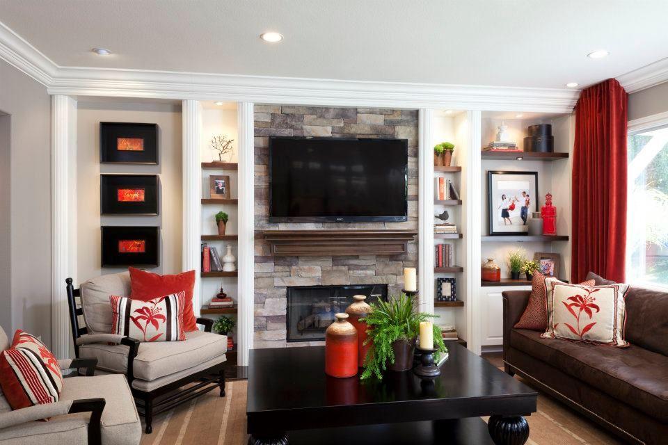 Family Room remodel off Kitchen Interior Design