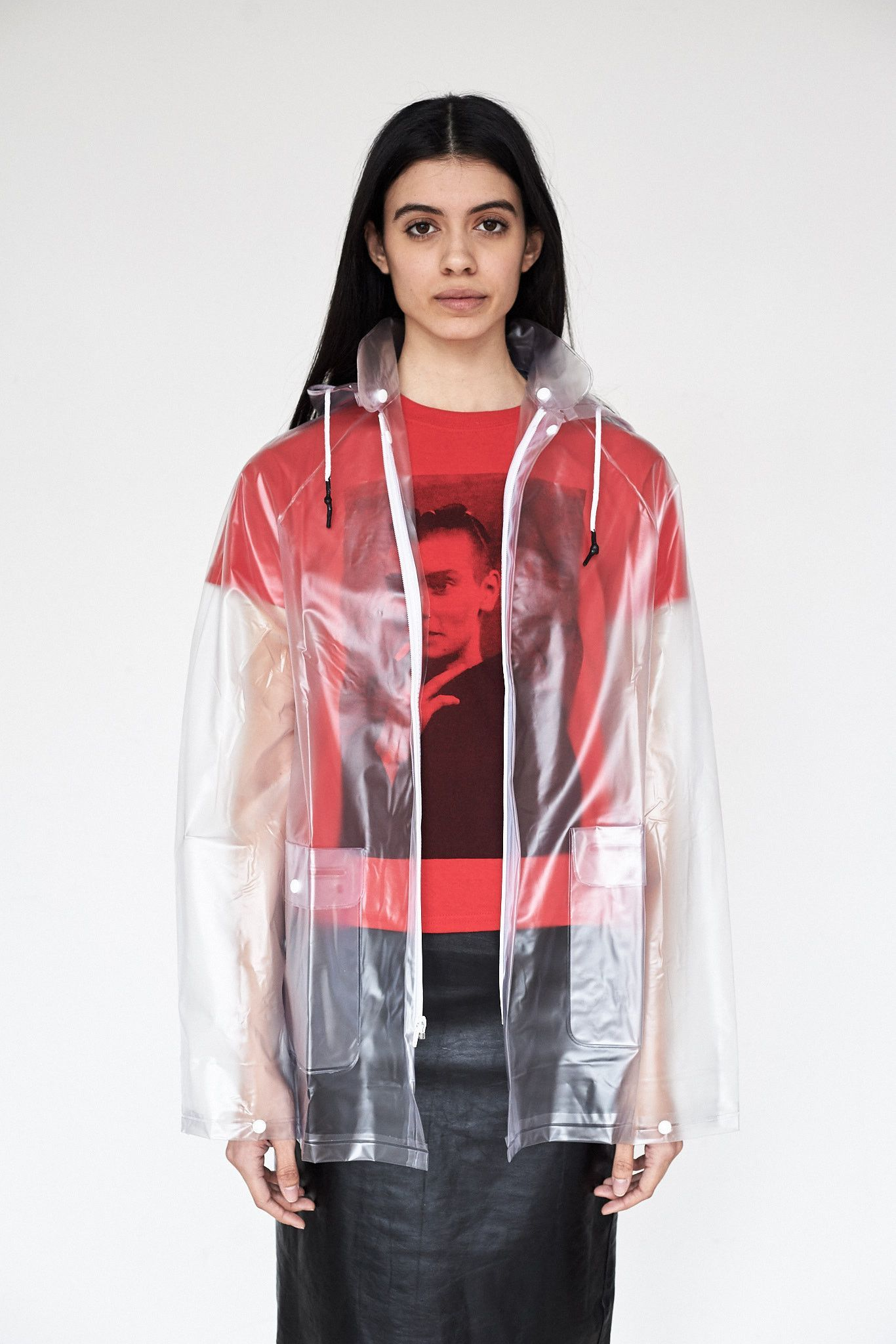 2d7d6f1b3f333 Vinyl Clear Raincoat