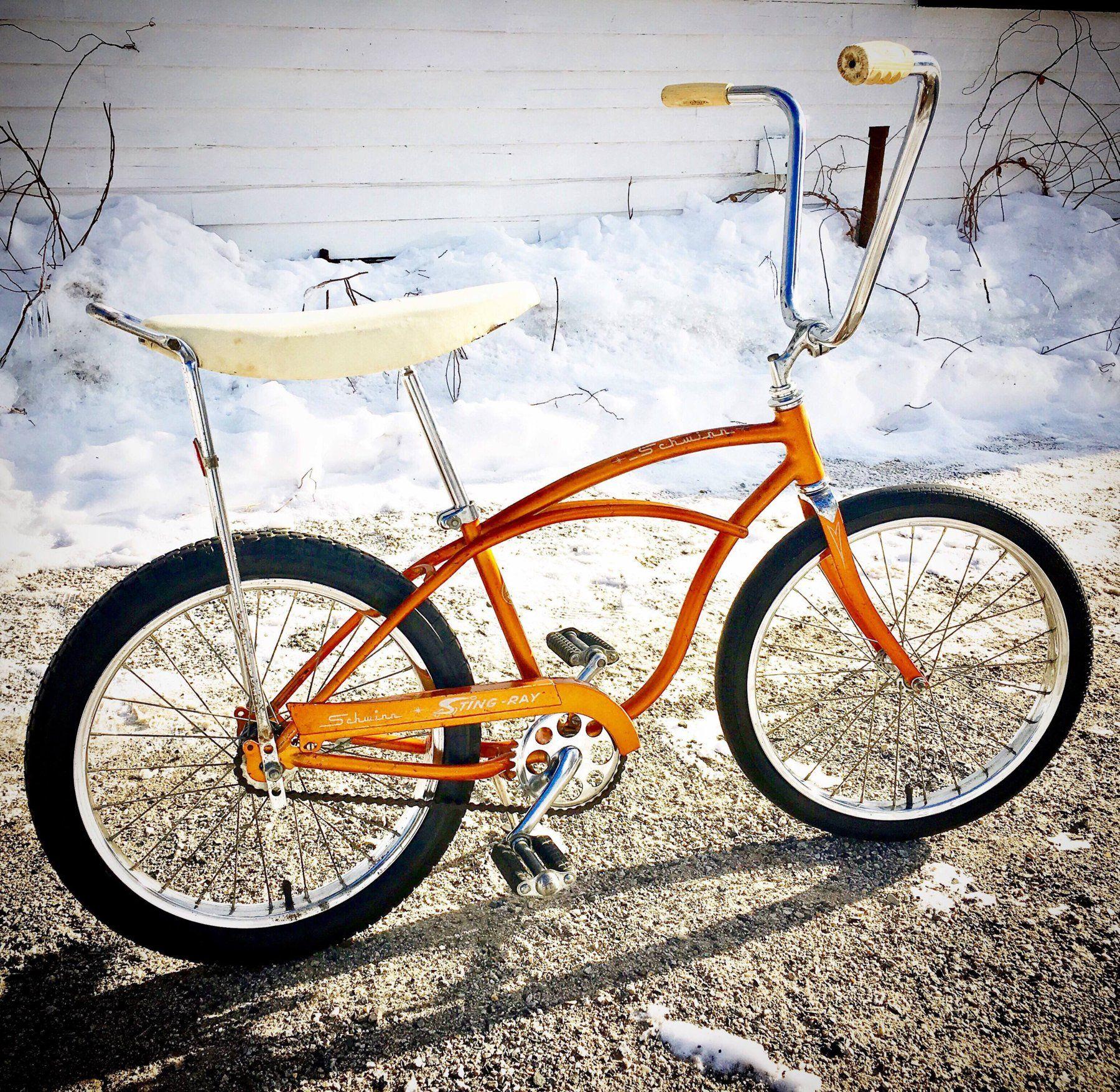 OldSchool BMX Bike STAR GRIPS Vintage Schwinn Stingray Cruiser Bicycle MTB Fixie