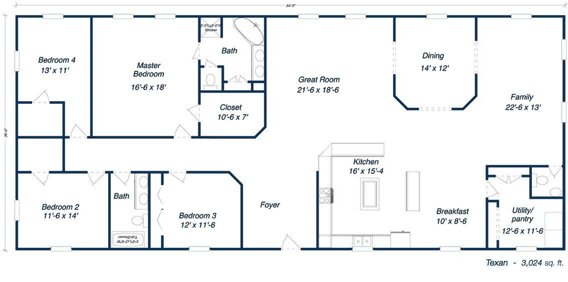 Metal Barn House Floor Plans House Floor Plans House Plan With Loft Pole Barn House Plans Barn House Plans