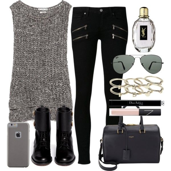 Untitled #1896 by dceee on Polyvore featuring Zara, Paige Denim, Valentino, Yves Saint Laurent, Wet Seal, Case-Mate, Ray-Ban, NARS Cosmetics and Christian Dior