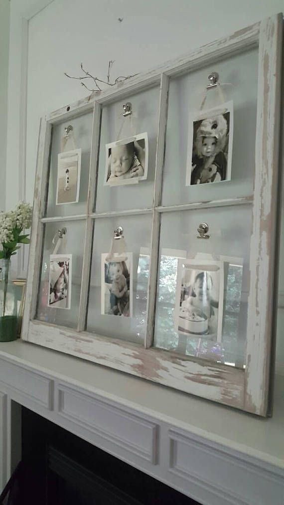 Vintage Window Picture Frames Customizable Colors Styles