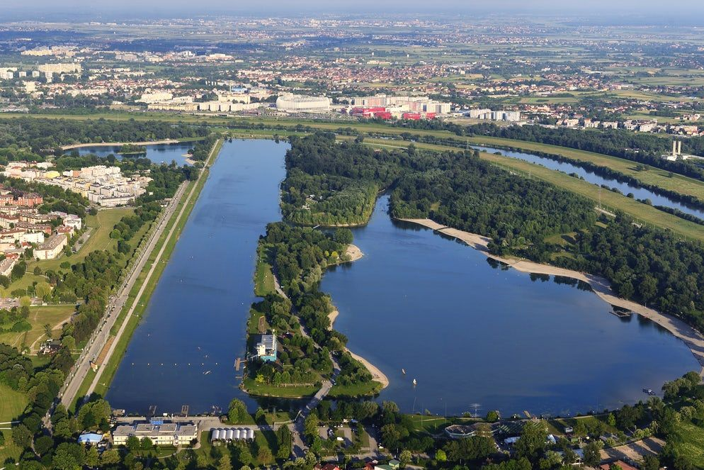 Jarun Lake In Zagreb And Its Six Islands Zagreb Lake Island
