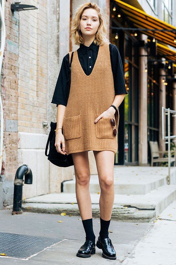 - Knit Dress