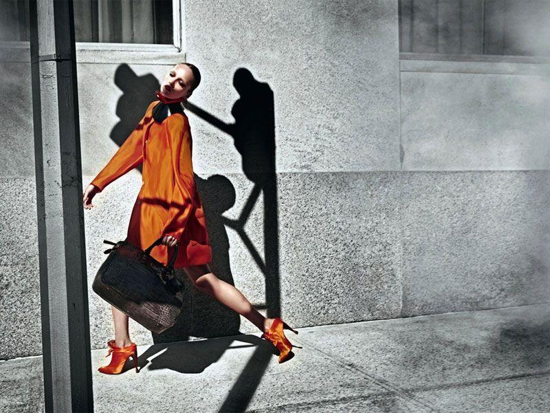 Emporio Armani Fall 2010 Campaign | Karmen Pedaru by Mario Sorrenti