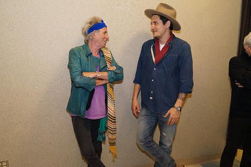 Keith & John Mayer from the 50 & Counting tour