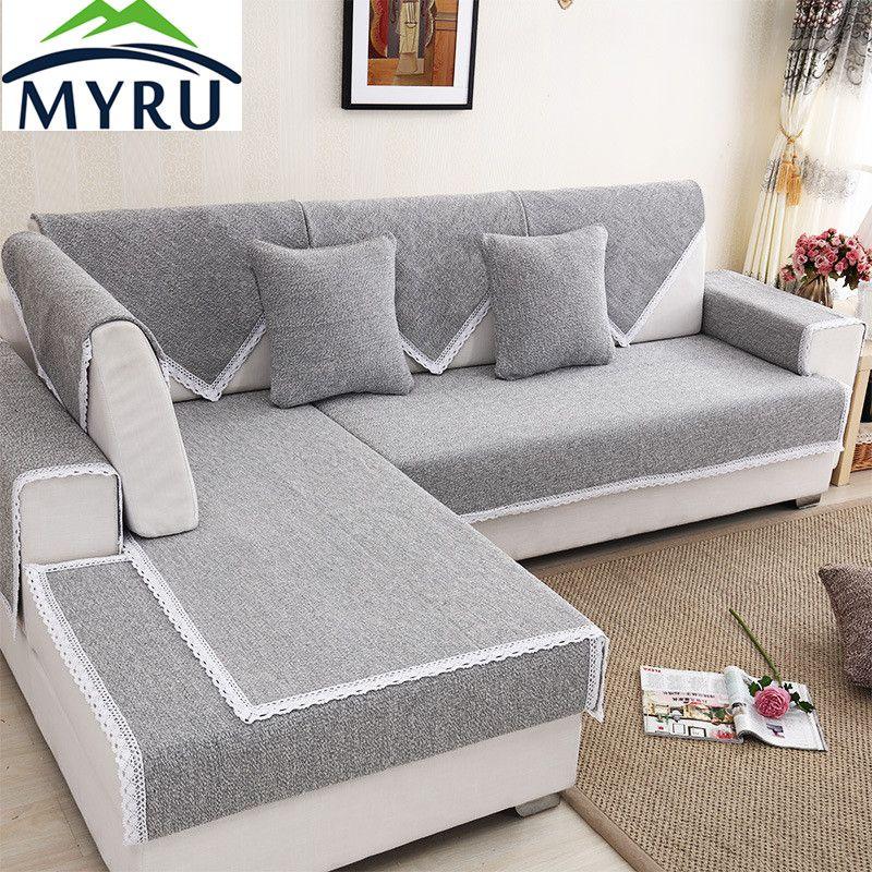Myru modern hot sale sofa covers slipresistant sofa towel