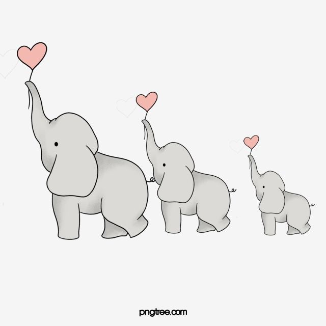 Cartoon Elephant Png Transparent : It can be downloaded in best resolution and used for design and web design.