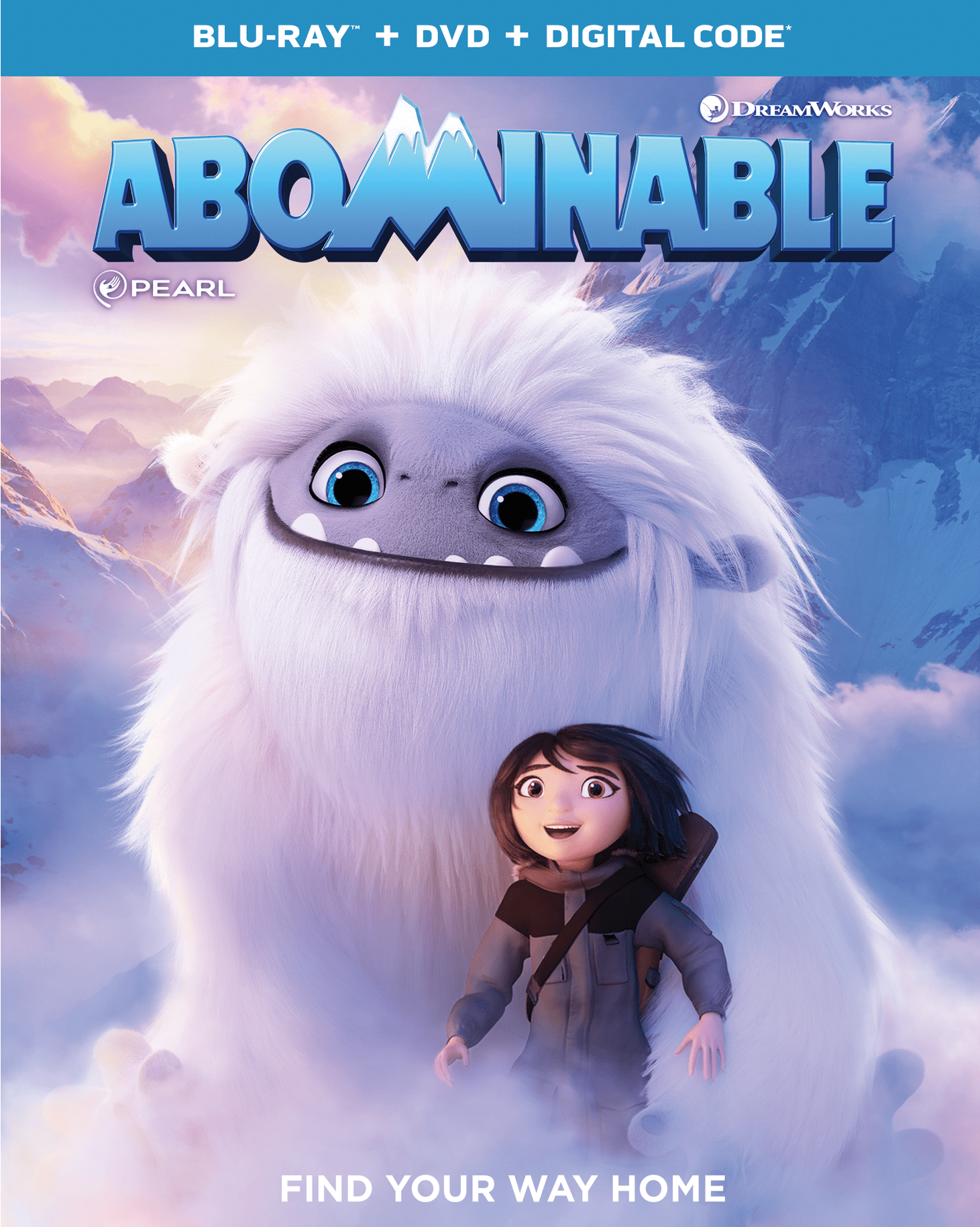 Abominable On Digital Dvd New Clips Activities Dreamworks Animation Animation Animated Movies