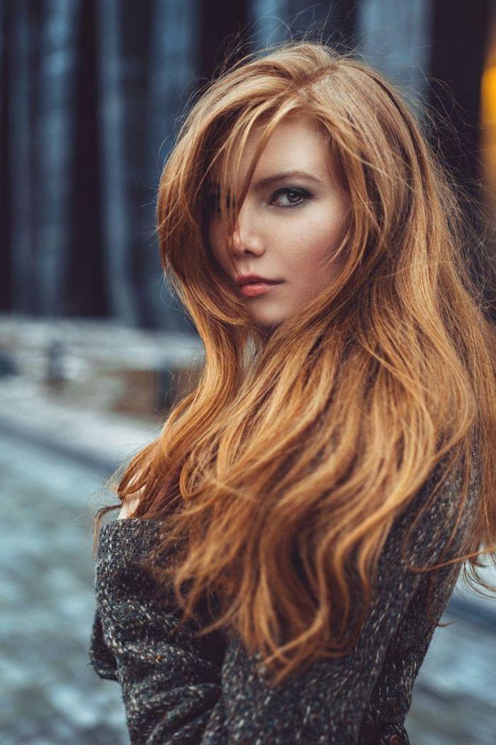 1001 nuances de couleur cuivre pour cheveux irr sistibles coiffures pinterest chatain. Black Bedroom Furniture Sets. Home Design Ideas