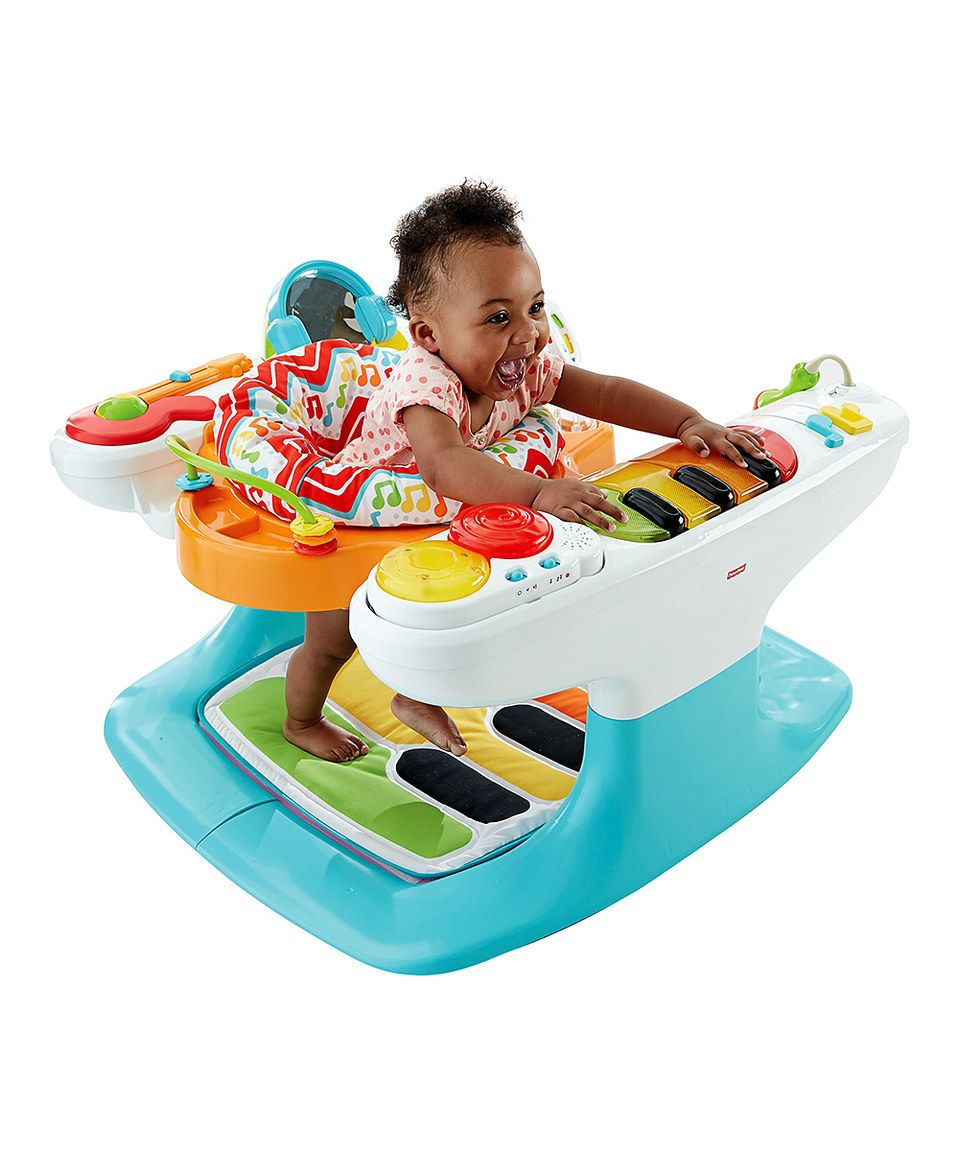 This 4In1 Step 'N Play Piano by FisherPrice is perfect