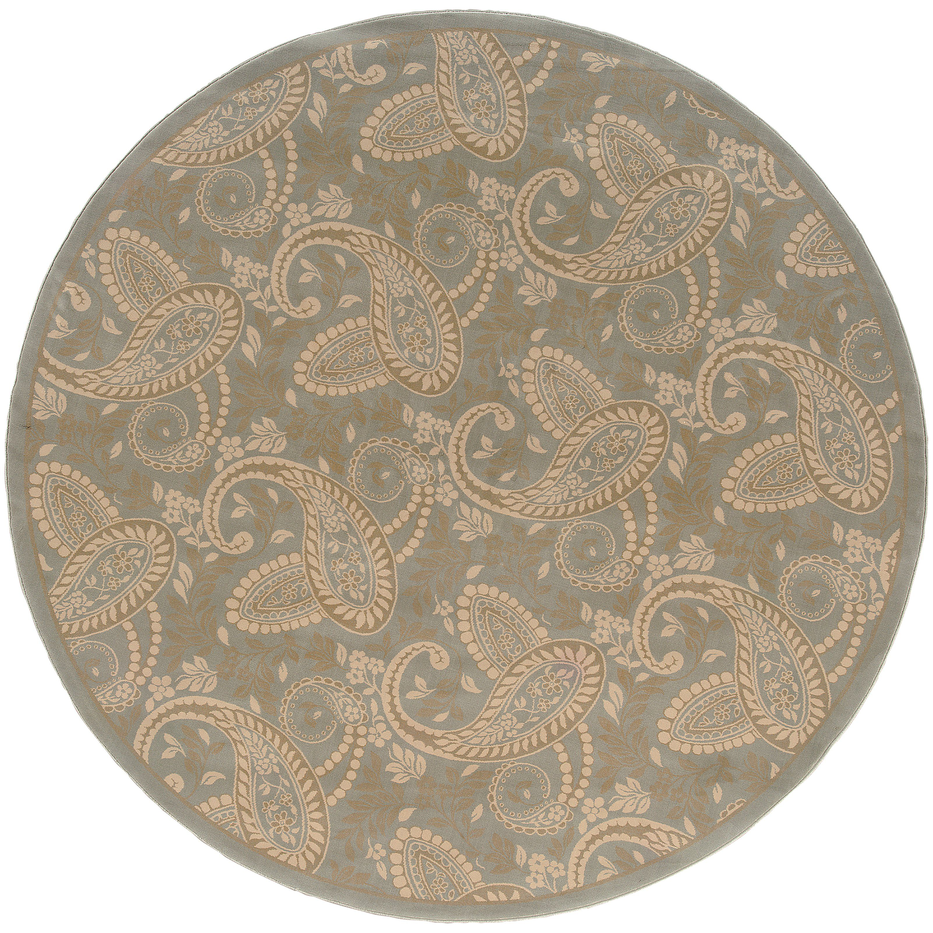 Oriental Weavers Ariana Blue/Gold Paisley 2284C Area Rug