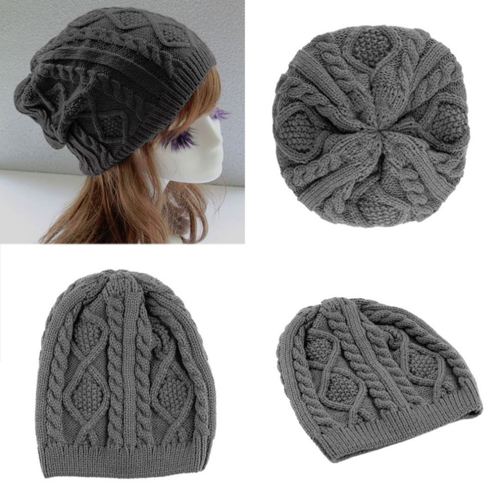 Unisex Women Men Winter Warm Ski Knitted Crochet Baggy Beanie Hat Cap Hot Selling #>=#>=#>=#>=#> Click on the pin to check out discount price, color, size, shipping, etc. Save and like it!