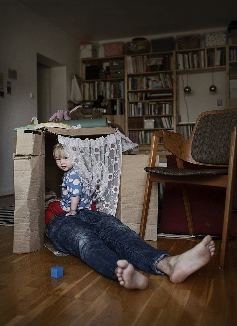Photographer Documents What Life Is Life For Swedish Dads On Parental Leave | Fatherly