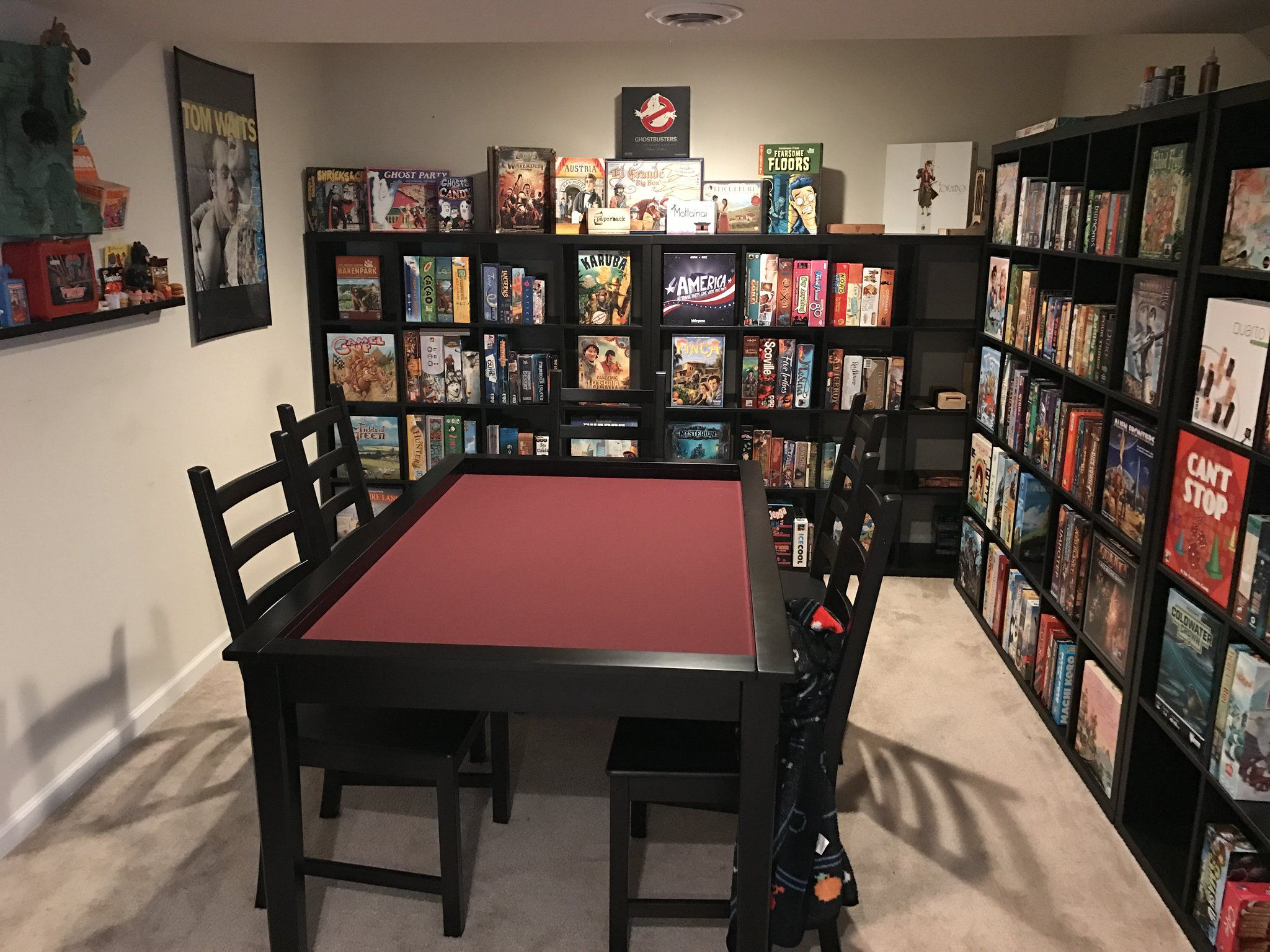(1) Twitter Game room family, Board game room, Game room