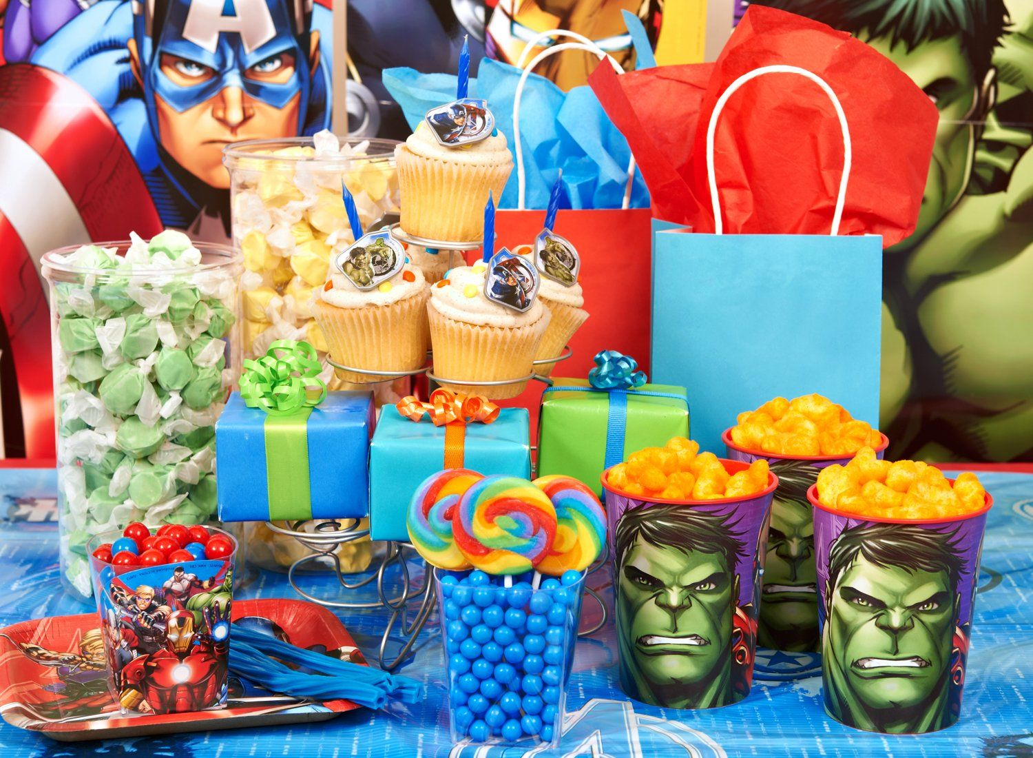 Avengers Party Decorations Avengers Party Pack Party Ware Decorations Favors And More For