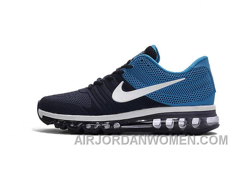 5d62f932e07 Authentic Nike Air Max 2017 KPU Navy White Blue Lastest MJ6AA in ...