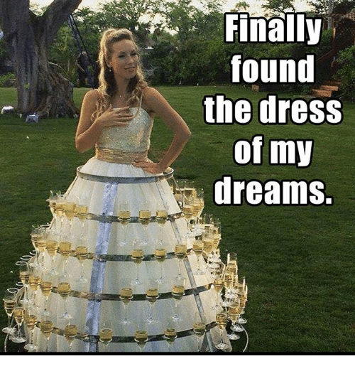 Wedding Dress Meme Found The Dress Of My Dreams Meme On Sizzle Funny Wedding Dresses Weird Wedding Dress Funny Dresses