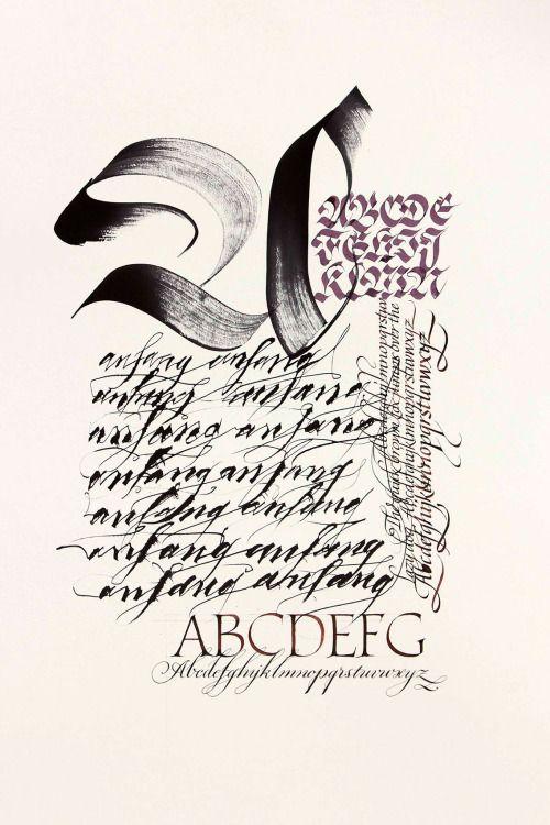 Schriftfamilie by  Bertram Kaiser