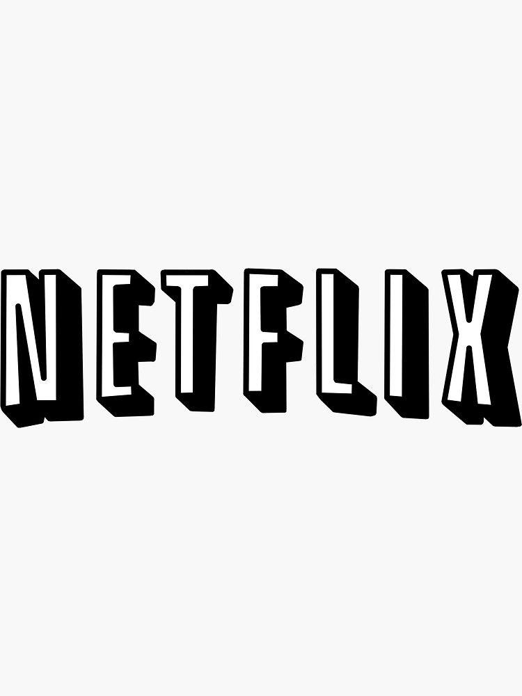 Netflix White Sticker By Sofiaprie App Icon Snapchat Icon App Store Icon