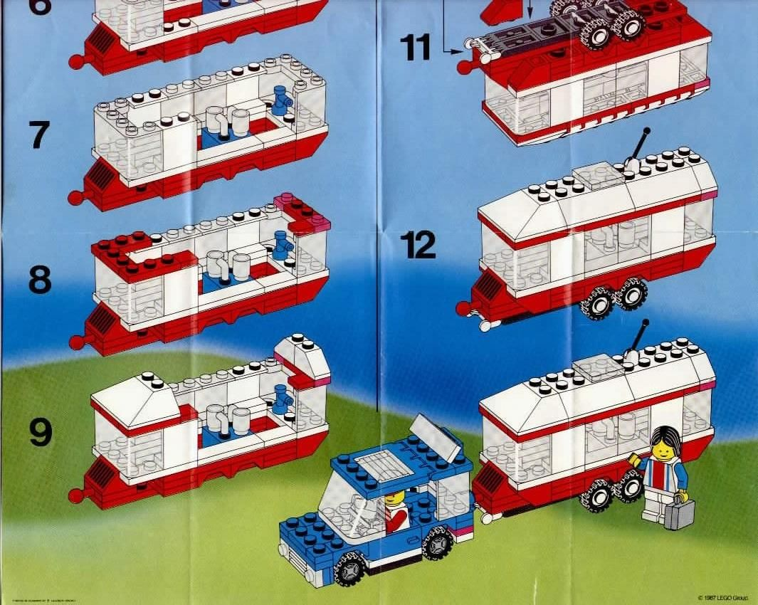 city vacation camper lego 6590 lego pinterest lego anleitung lego und flugzeug. Black Bedroom Furniture Sets. Home Design Ideas
