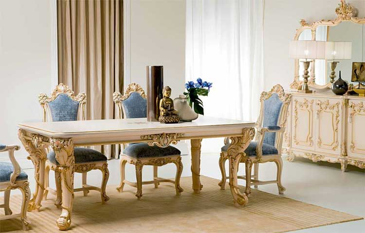 Victorian Alexandra Dining Room Victorian Luxury Italian