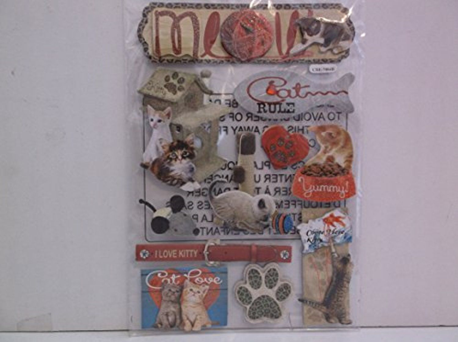 Special MomentsMeow 3D Scrapbooking Sticker Embellishments -- Awesome products selected by Anna Churchill