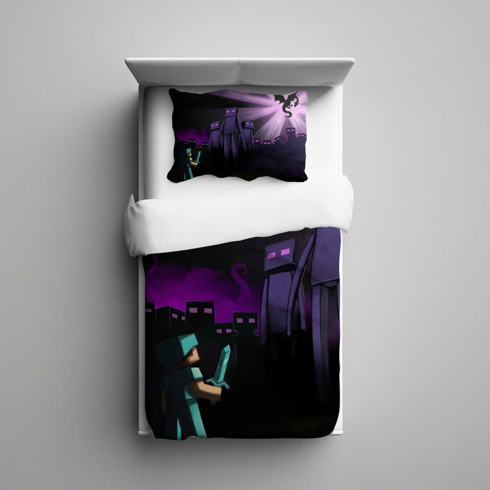 Minecraft Enderman Bed Minecraft Creeper Enderman 31