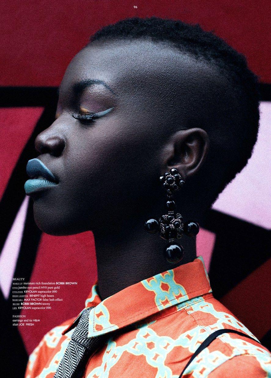 Saki W by Denver Rodrigues for 74 Magazine profile dark ...