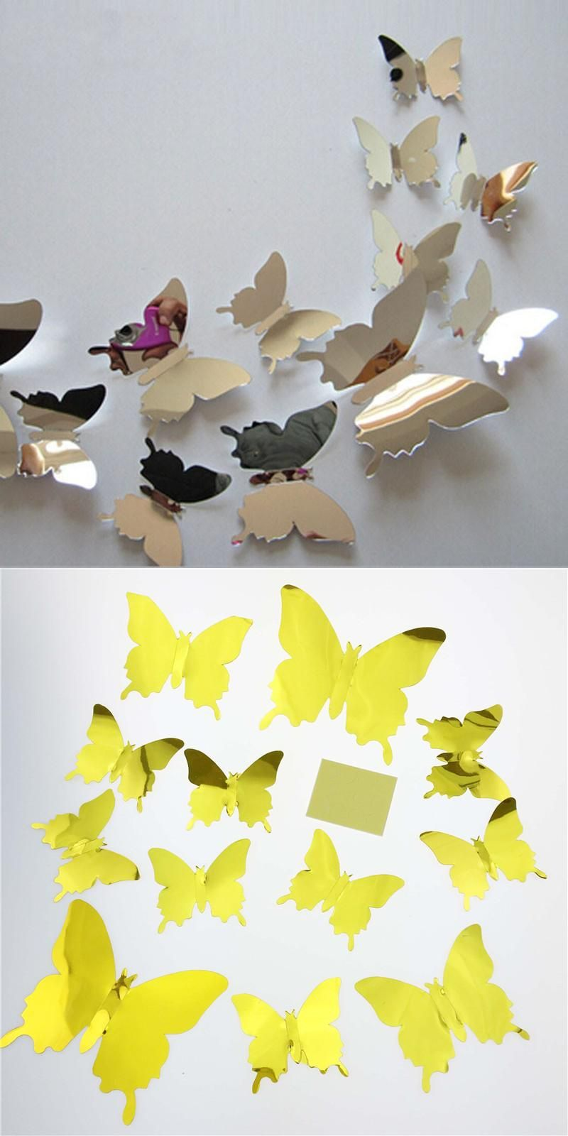 Fantastic Butterfly Wall Decor For Kids Room Images - The Wall Art ...