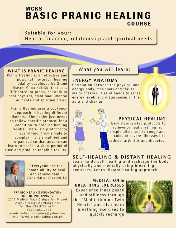 Pranic Healing Foundation Of The Philippines Welcomes You To A