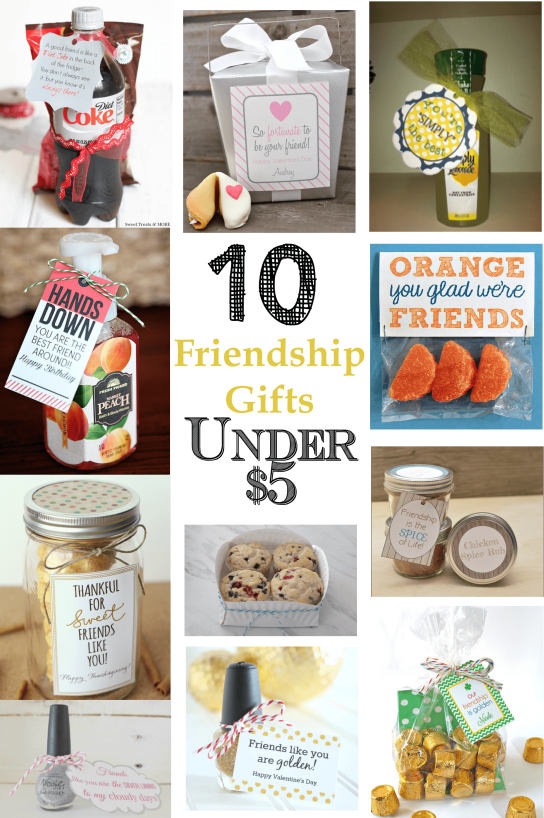 10 Diy Gift Ideas Under 5 Family Christmas Gifts Friendship Gifts Secret Sister Gifts