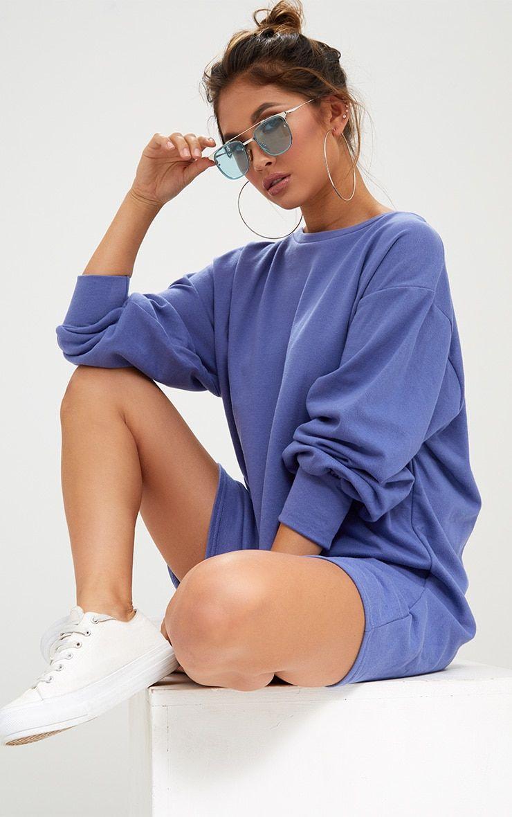 Blue Oversized Sweater Dress Sweater Dress Oversized Blue Oversized Sweater Blue Sweater Dress [ 1180 x 740 Pixel ]